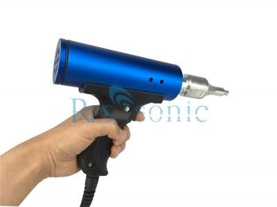 Handheld Ultrasonic Plastic Welder , 28KHz Ultrasonic Plastic Welding Machine